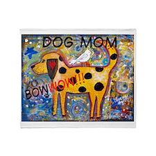 BowWow Mom #1 Throw Blanket