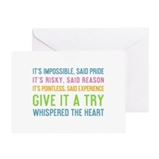 Unique Motivational Greeting Card