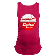 Capital Airlines Maternity Tank Top