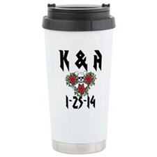Personalized Skull Travel Mug