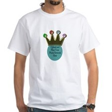 Your Photo Under a Crown T-Shirt
