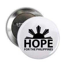 "Hope For The Philippines 2.25"" Button"