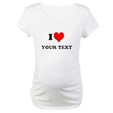 Personalized I heart Shirt