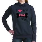 dogboneILOVEMY.png Hooded Sweatshirt