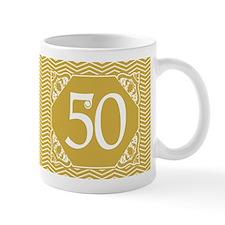 50th Birthday (Chevron) Mug