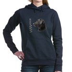 portrait5.png Hooded Sweatshirt