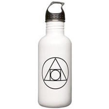 circle square triangle symbol Water Bottle