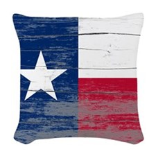Texas Old Paint Woven Throw Pillow