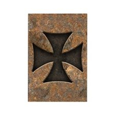 Rusty Maltese Rectangle Magnet (10 pack)