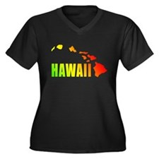 Hawaiian Islands Plus Size T-Shirt