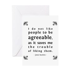 Agreeable People Greeting Cards