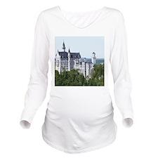 Neuschwanstein002 Long Sleeve Maternity T-Shirt