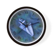 Seashell Clock Wall Clock