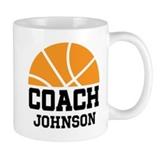 Personalized Basketball Coach Gift Mugs