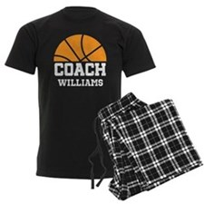 Basketball Personalized Coach Name Pajamas