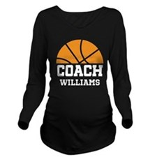 Basketball Personalized Coach Name Long Sleeve Mat