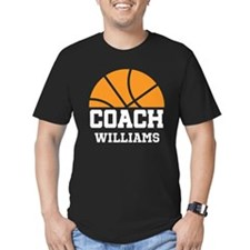 Basketball Personalized Coach Name T-Shirt