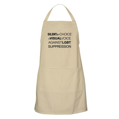 Silent By Choice BBQ Apron