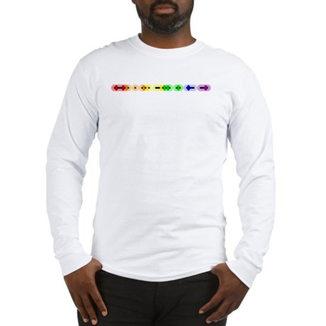 Lesbian Morse Bar Long Sleeve T-Shirt