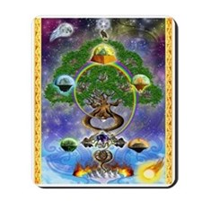 """Mousepad Featuring """"Yggdrasil, the World Tree"""""""