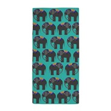Indian Elephant Beach Towel
