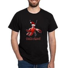 Santa Craws - Crawdad Christmas T-Shirt