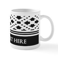 Custom Text Geometric Mug
