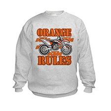 Orange Rules Sweatshirt
