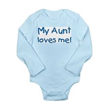 My aunt loves me! [blue] Body Suit