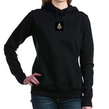 Black Masonic Hooded Sweatshirt