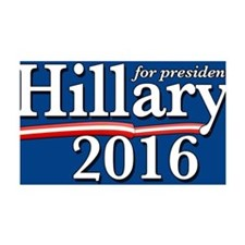 Hillary Clinton for President 201 Wall Decal