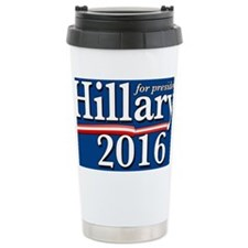 Hillary Clinton for Pre Travel Mug