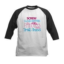 Princess wears Trail Shoes Baseball Jersey