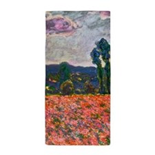 Monet - Poppy Field Beach Towel