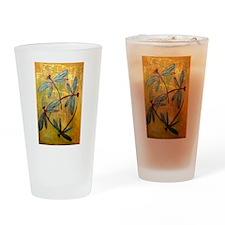 Dragonfly Haze Drinking Glass