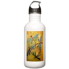 Dragonfly Haze Sports Water Bottle