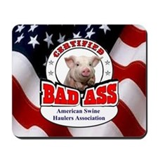 American Swine Haulers Association OO1 Mousepad