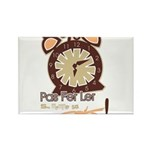 CLOCK Rectangle Magnet (100 pack)