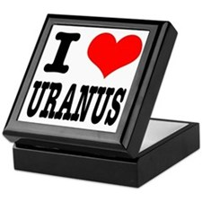 I Heart (Love) Uranus Keepsake Box