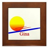 Gina Framed Tile