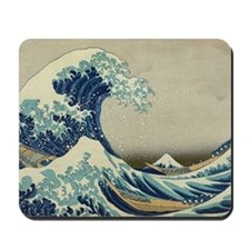 The Great Wave off Kanagawa (??????) Mousepad