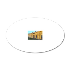 Suomenlinna Island, Finland  20x12 Oval Wall Decal