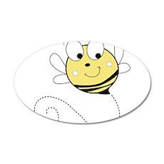 Flying Bee Wall Decal