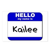hello my name is kailee  Postcards (Package of 8)