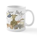 Jungle Animal New Baby Mug