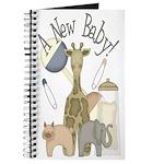 Jungle Animal New Baby Journal