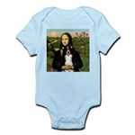 Mona & Border Collie Infant Bodysuit