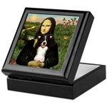 Mona & Border Collie Keepsake Box