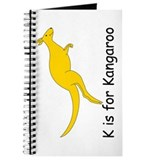 K is for Kangaroo Journal