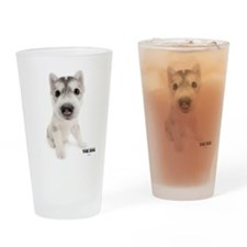 Siberian Husky Drinking Glass
